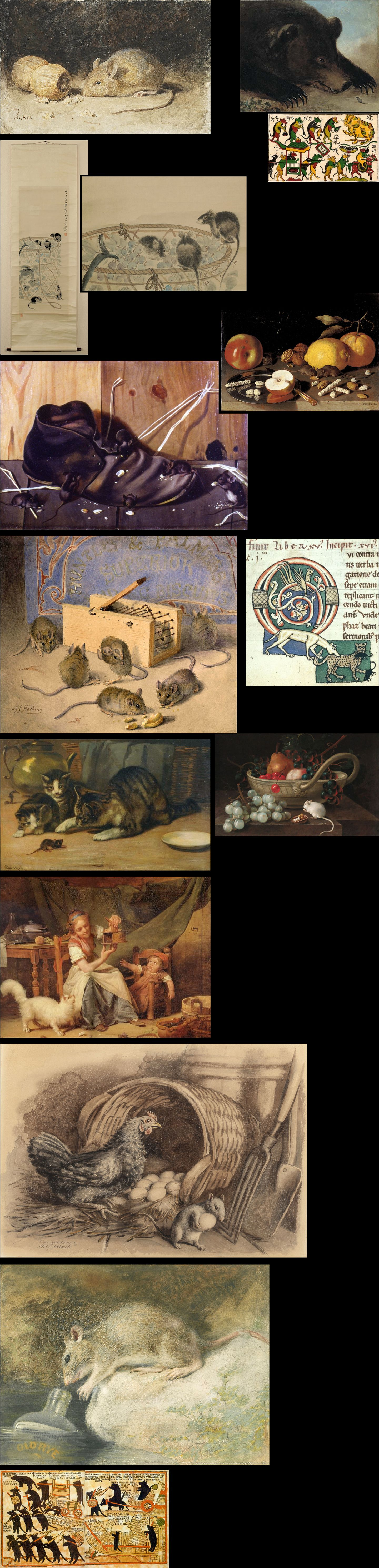 Gallery of Mouse Art on Forbidden Mouse City